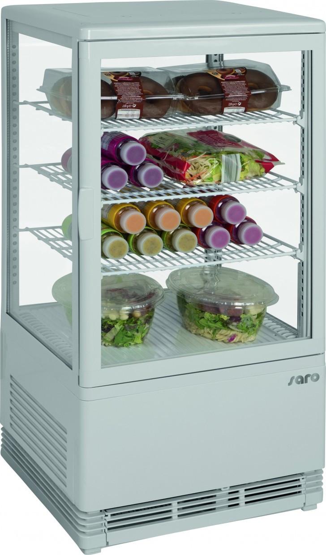 Холодильный шкаф-витрина Saro SC 70 white