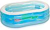 Дитячий надувний басейн Intex 57482 «Морські друзі», 163 х 107 х 46 см, фото 3