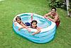 Дитячий надувний басейн Intex 57482 «Морські друзі», 163 х 107 х 46 см, фото 9