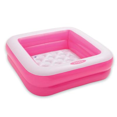Детский надувной бассейн Intex 57100, розовый, 85 х 85 х 23 см