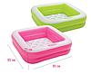 Детский надувной бассейн Intex 57100, розовый, 85 х 85 х 23 см, фото 2