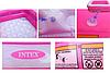 Детский надувной бассейн Intex 57100, розовый, 85 х 85 х 23 см, фото 3