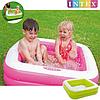 Детский надувной бассейн Intex 57100, розовый, 85 х 85 х 23 см, фото 5