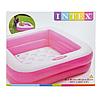 Детский надувной бассейн Intex 57100, розовый, 85 х 85 х 23 см, фото 9