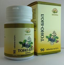 «Тоно-біол» таб 90шт при порушенні мозкового кровообігу