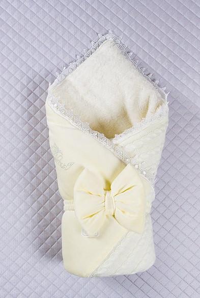 Конверт на выписку Дуэт  кремовый ( молоко)