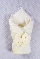 Конверт на выписку Дуэт  кремовый ( молоко), фото 1