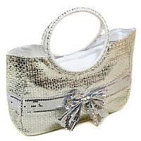 86a8ea9e29b2 Сумка Женская Корзина Текстиль Podium PC5599A-1 White Silver — в ...