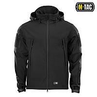 M-TAC КУРТКА SOFT SHELL BLACK