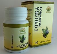 """""""Солодка"""" монобиол таб 90 шт при язвенной болезни желудка и двенадцатиперстной кишки"""