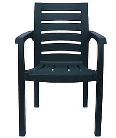 Кресло пластиковое Жимолость Зеленый