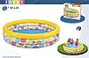 Детский надувной бассейн Intex 58439 «Геометрия», 147 х 33 см, фото 2