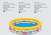 Детский надувной бассейн Intex 58439 «Геометрия», 147 х 33 см, фото 4