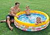 Детский надувной бассейн Intex 58439 «Геометрия», 147 х 33 см, фото 8