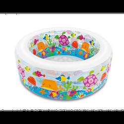 Детский надувной бассейн Intex 58480 «Аквариум», 152 х 56 см