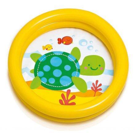Детский надувной бассейн Intex 59409, желтый, 61 х 15 см
