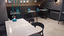 Кресло Papatya Luna-Stripe белое сиденье, верх белый, фото 3