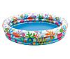 Детский надувной бассейн Intex 59469 «Аквариум» с мячом и кругом, 132 х 28 см, фото 2