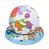 Детский надувной бассейн Intex 59469 «Аквариум» с мячом и кругом, 132 х 28 см, фото 3