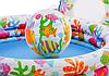Детский надувной бассейн Intex 59469 «Аквариум» с мячом и кругом, 132 х 28 см, фото 6