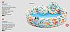 Детский надувной бассейн Intex 59469 «Аквариум» с мячом и кругом, 132 х 28 см, фото 8