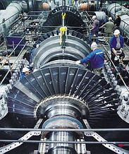 Запасні частини та вузли парових турбін