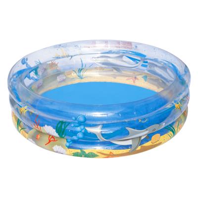 Детский надувной бассейн BestWay 51045 «Морской мир», 150 х 53 см
