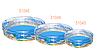 Детский надувной бассейн BestWay 51045 «Морской мир», 150 х 53 см, фото 2