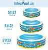 Детский надувной бассейн BestWay 51121 «Аквариум», 152 х 51 см, фото 2