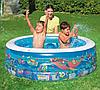 Детский надувной бассейн BestWay 51121 «Аквариум», 152 х 51 см, фото 8