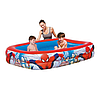 Дитячий надувний басейн BestWay 98011 «Людина-Павук», 201 х 150 х 51 см, фото 2