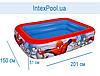 Дитячий надувний басейн BestWay 98011 «Людина-Павук», 201 х 150 х 51 см, фото 4