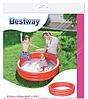 Детский надувной бассейн BestWay 51024, розовый, 102 х 25 см, фото 4