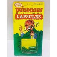 Оригінальний Розіграш Зелена Капсула Poisonous Capsules Прикол. Зелена піна з рота
