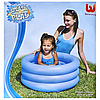Дитячий надувний басейн BestWay 51033, блакитний, 70 х 30 см, фото 6