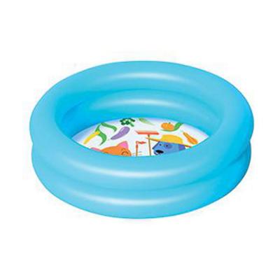 Детский надувной бассейн BestWay 51061, голубой, 61 х 15 см