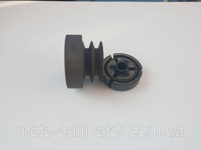 Центробежное сцепление на двигателя 25 мм