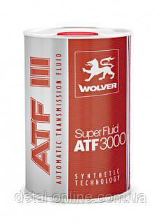 Масло для автоматических трансмиссий Wolver Super Fluid ATF 3000 (1л), фото 2