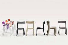 Кресло Papatya Hera-K белое сиденье, верх белый, фото 3