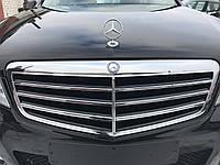 Решетка капота Avantgarde Mercedes e-class w212 дорестайлинг