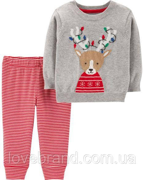 """Новогодний костюм для мальчика  Carter's """"Олень"""""""
