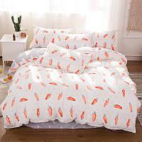 Комплект постельного белья  Морковка (полуторный)  , фото 1
