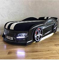 Кровать машина Bmw чёрный, фото 1