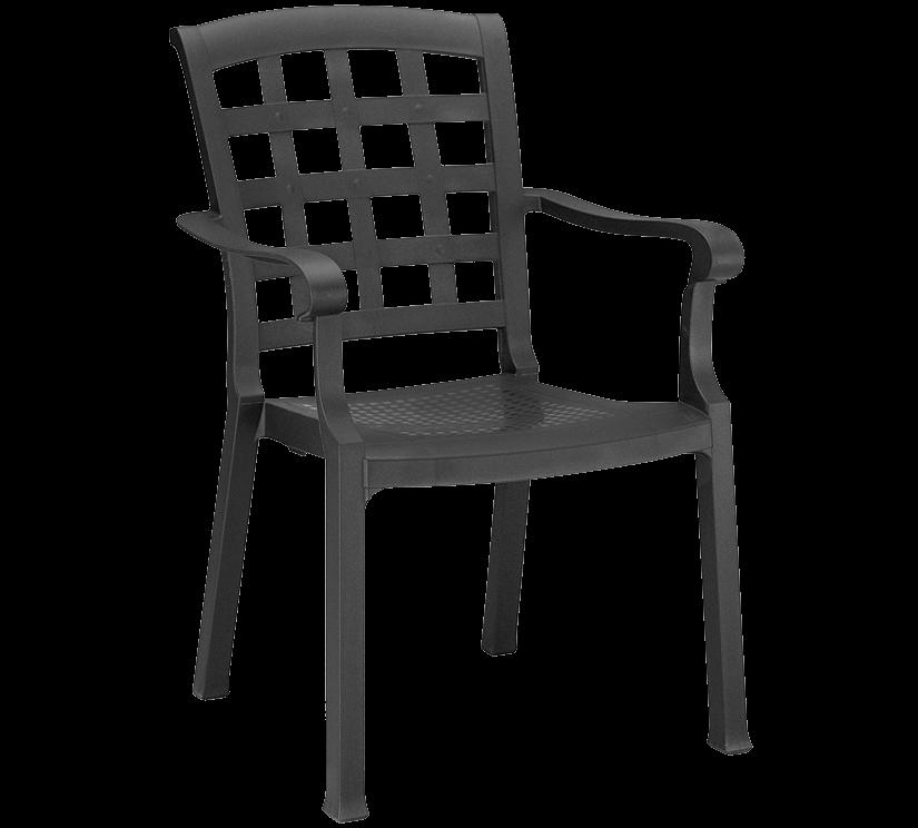 Кресло Papatya Паша антрацит
