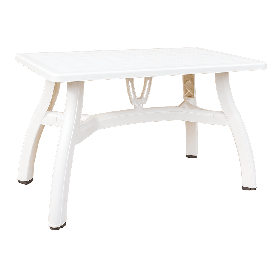 Стол прямоугольный Irak Plastik King 70x115 белый