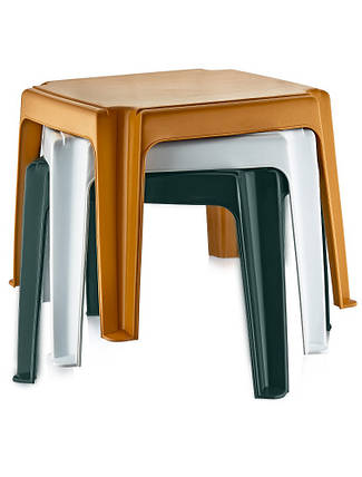 Столик для шезлонга Irak Plastik 45x45 (зеленый), фото 2