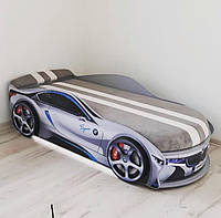 Кровать машина Bmw space круиз серебро