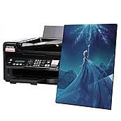 Печать готовой Вафельной картинки А4