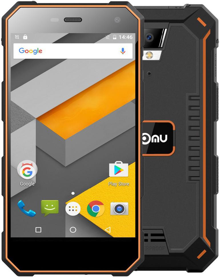 Nomu S10 | Оранжевый | IP68 | 2/16Гб | 4G/LTE | Гарантия