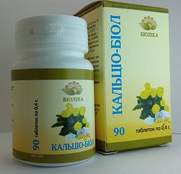 Натуральный эффективный препарат кальция Кальцио-биол, таб 90 шт -при судорогах в мышцах для волос костей